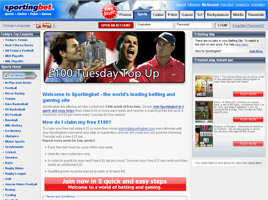Sporting Bet Home